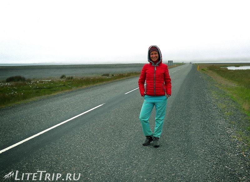 Исландия. Автостоп - на обочине