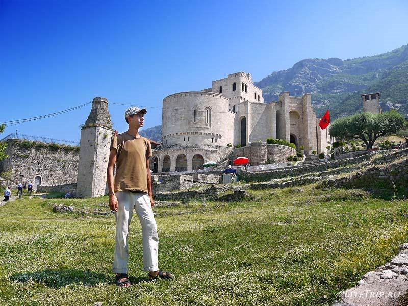 Албания. Территория крепости Круе