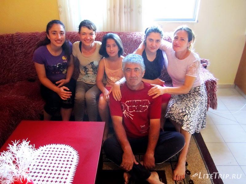В гостях у албанской семьи.