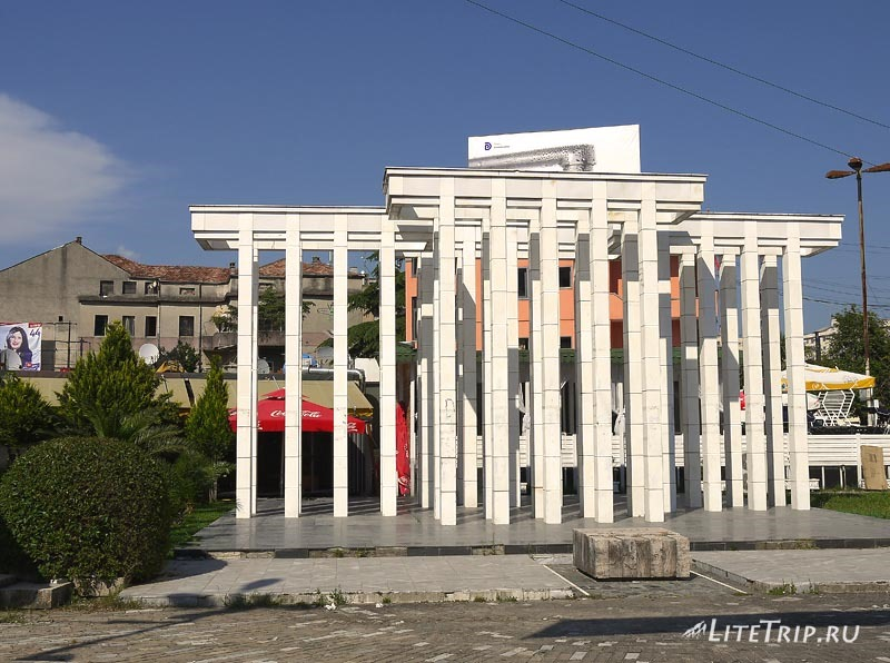 Албания. Город Шкодер.