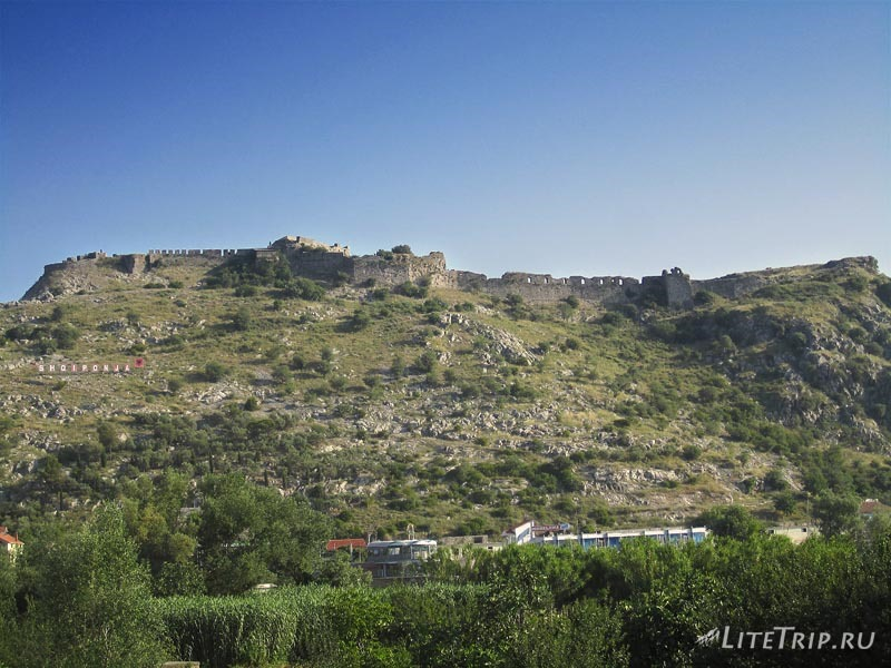 Албания. Крепость в Шкодере.