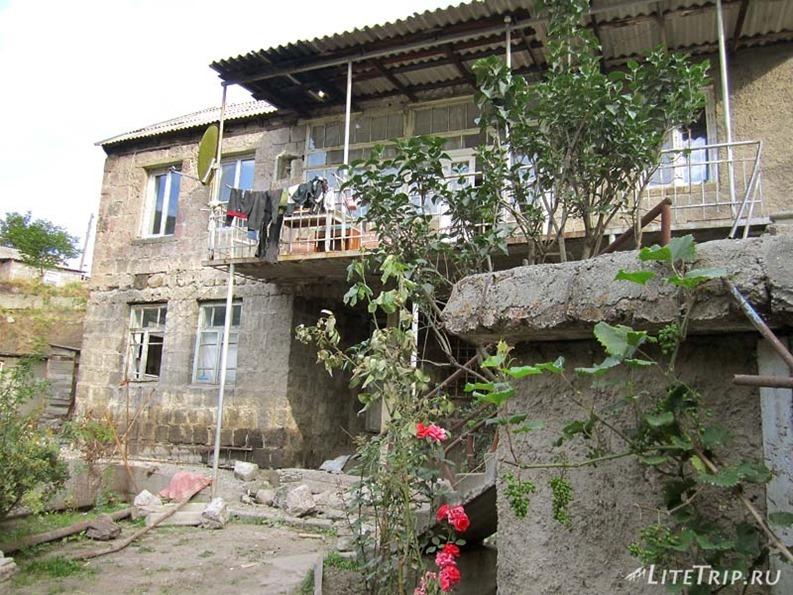 Армения. Ванадзор - частный дом.