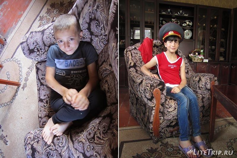 Армения. Ванадзор - дети Розы.