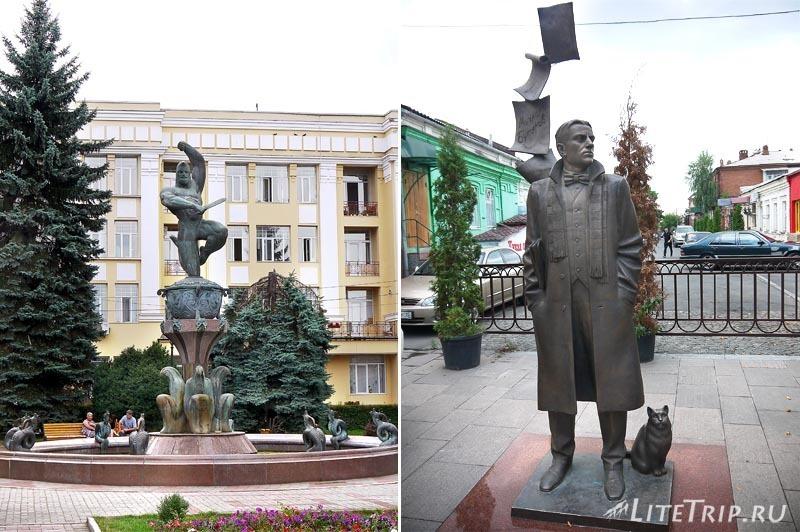 Россия. Владикавказ - улицы.