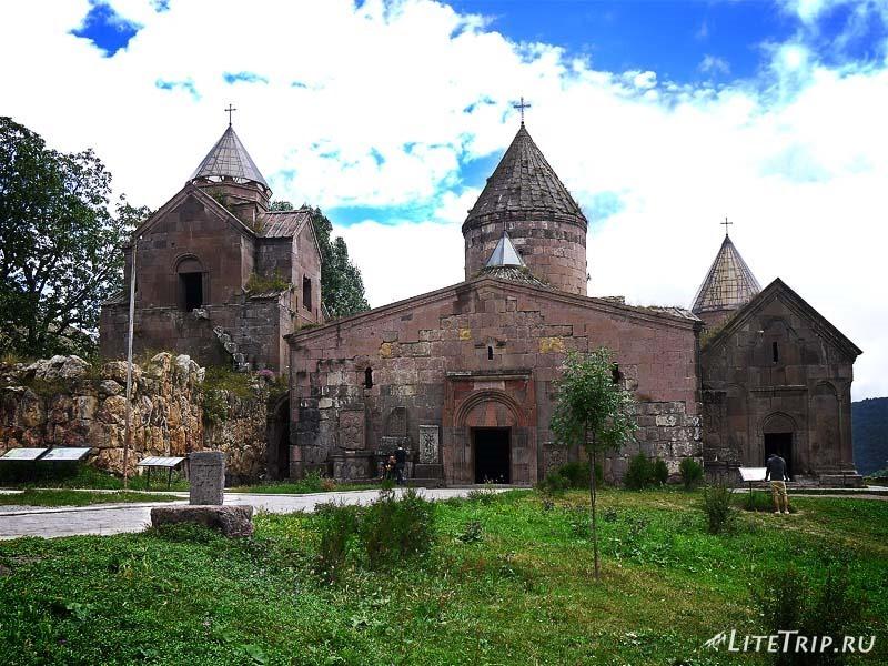 Армения. Дилижан - монастырь Гошаванк.