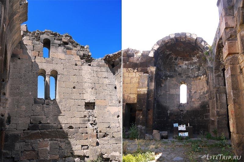 Армения. Город Аштарак - церковь Циранавор.