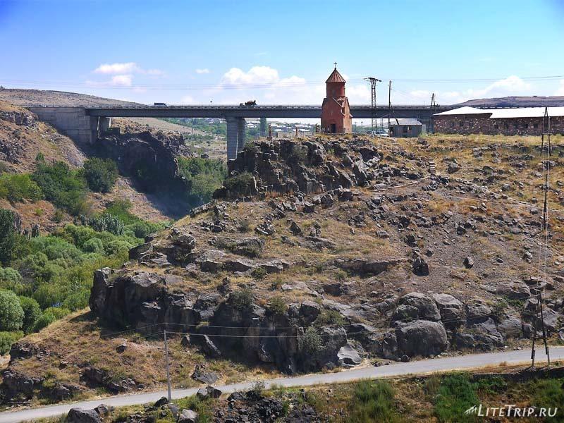 Армения. Город Аштарак - новый мост.