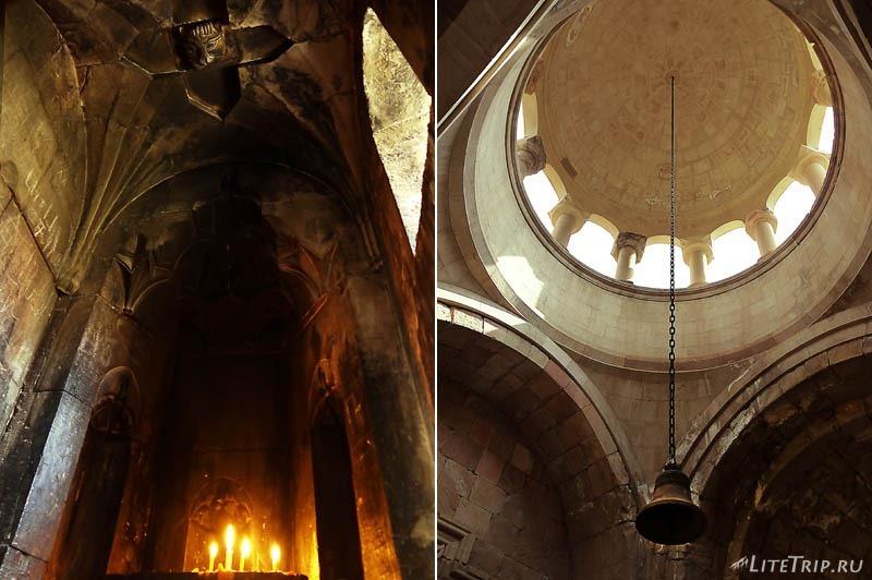 Армения. Нораванк - молельня церкви Сурб Аствацацин.