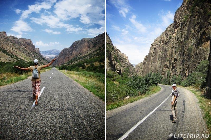 Армения. Пешком по каньону Нораванк.