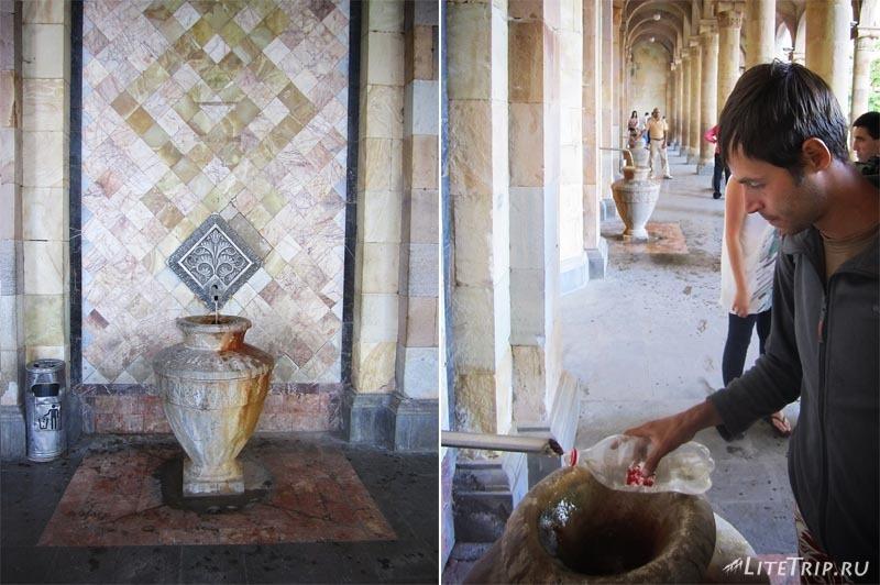 Армения. Джермук - галерея минеральной воды.