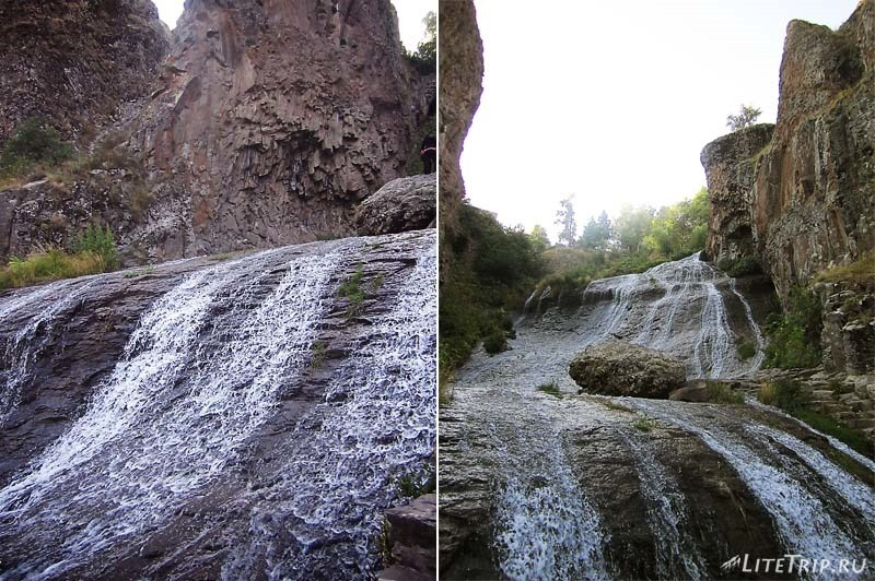 Армения. Джермукский водопад.