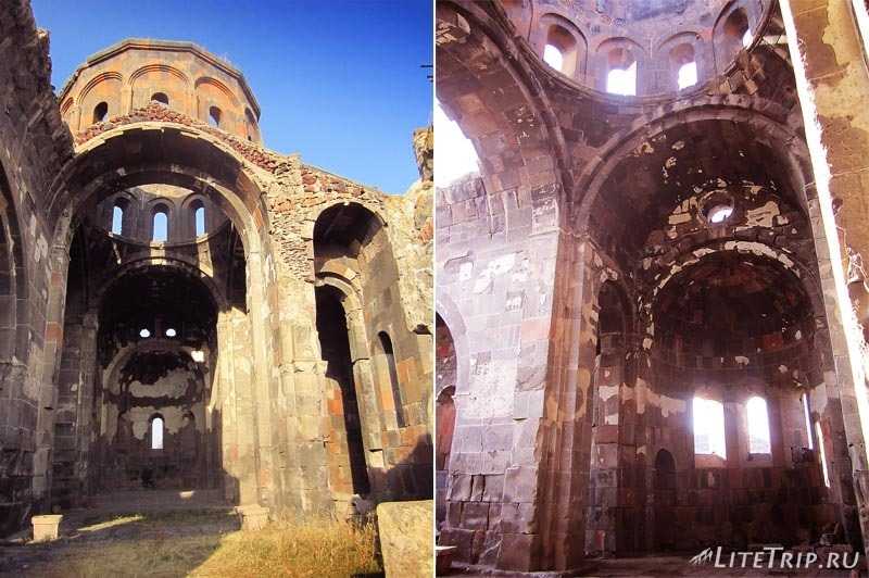 Армения. Талин - большой талинский храм внутри.