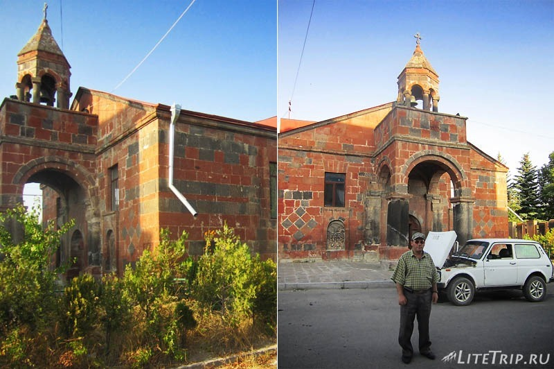 Армения. Талин - малая апостольская церковь.