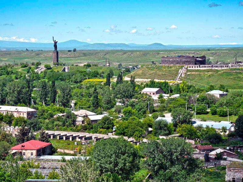 Черная крепость в городе Гюмри