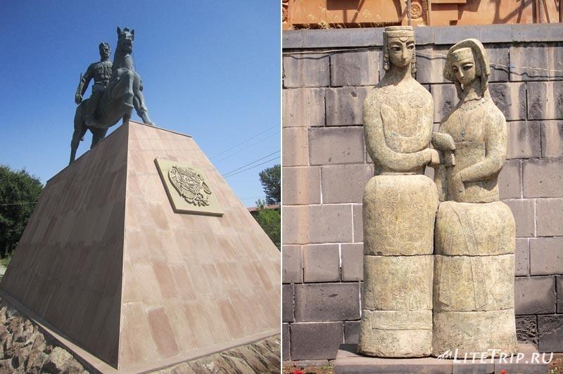 Армения. Гюмри - памятники города.