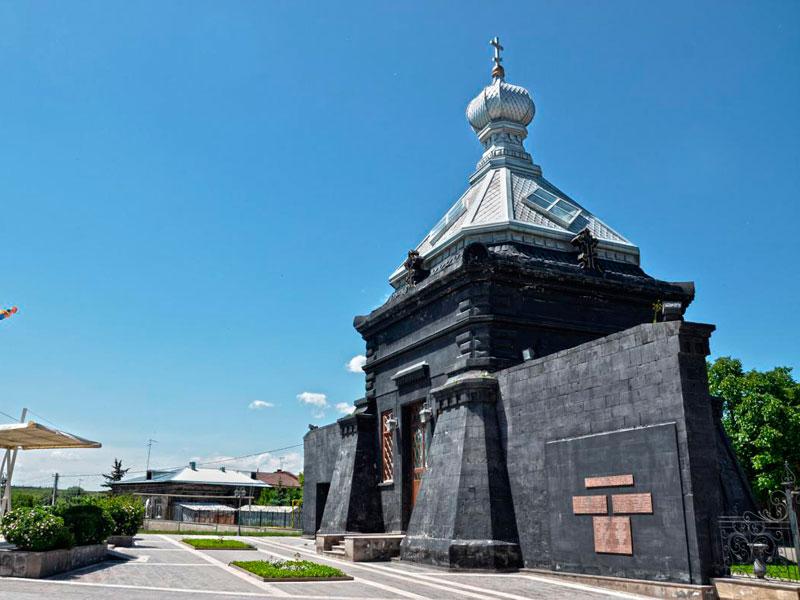 Русская часовня в городе Гюмри