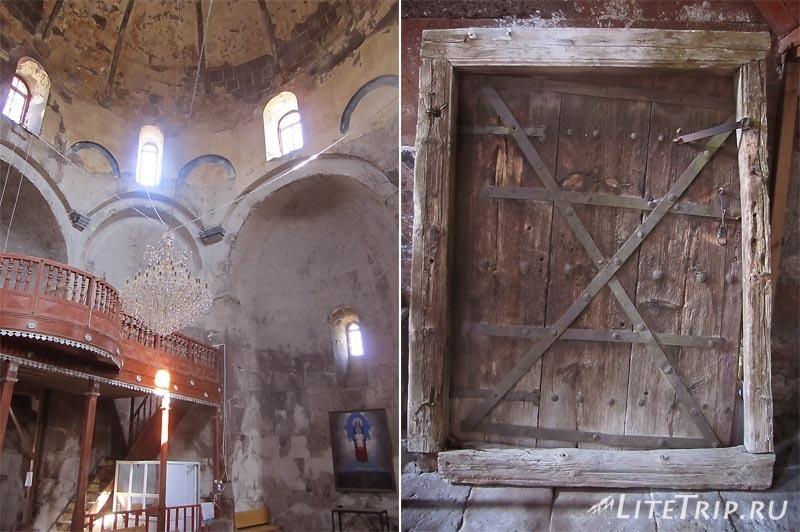 Армения. Мастара - внутри церкви Святого Иоанна Крестителя.