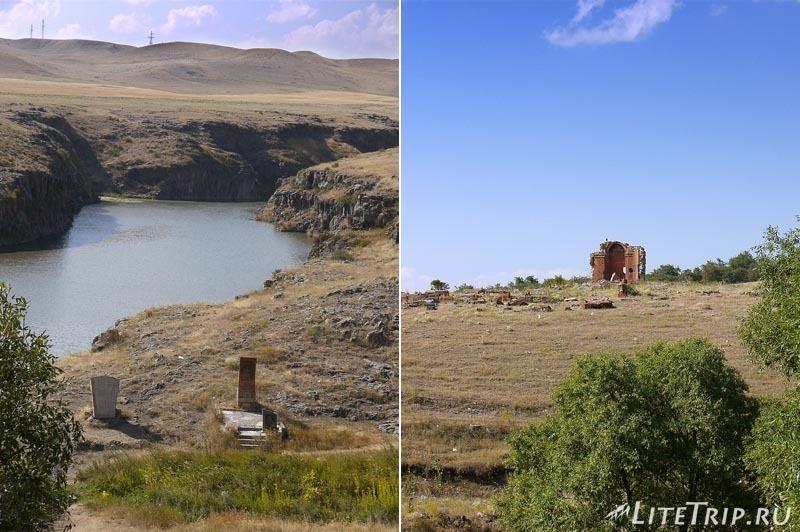 Армения. Монастырский комплекс Мармашен - руины.