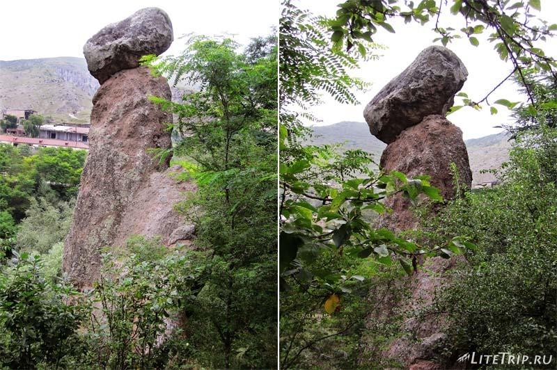 """Армения. Каменные """"грибы"""" в Горисе."""