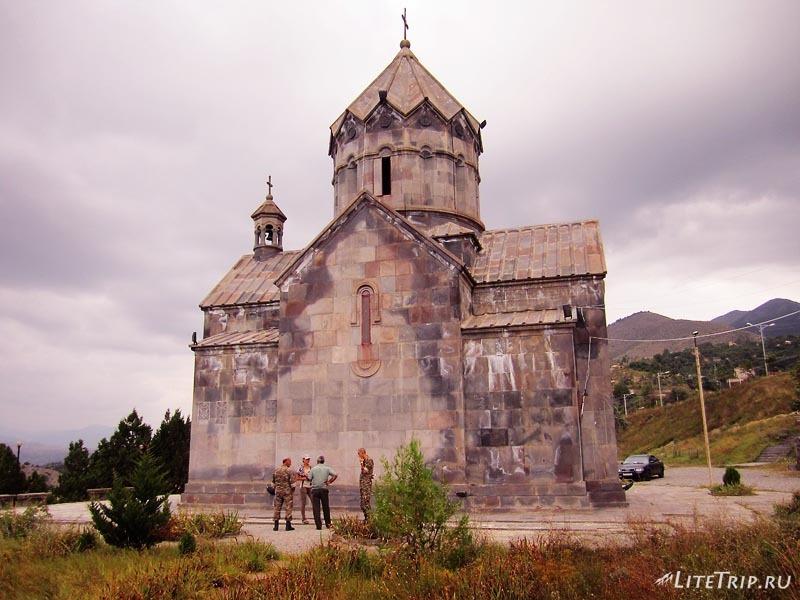 Армения. Нагорный Карабах - церковь Saint Hambardzum