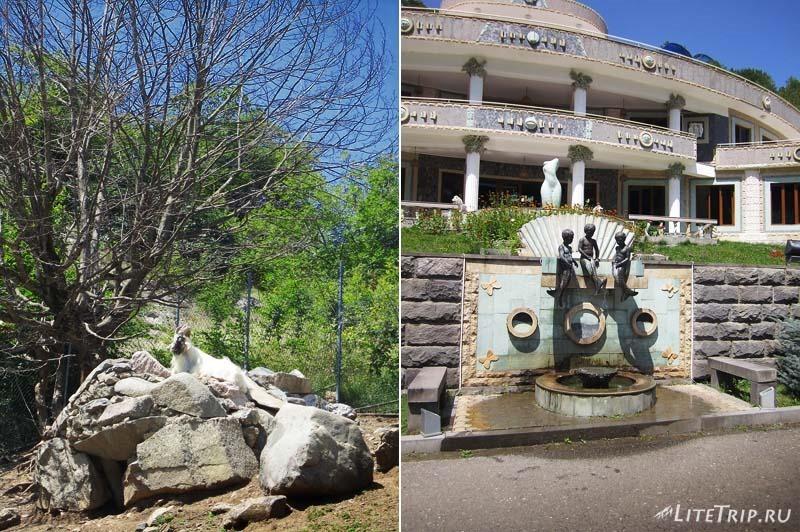 Нагорный Карабах. Деревня Ванк - фонтан.