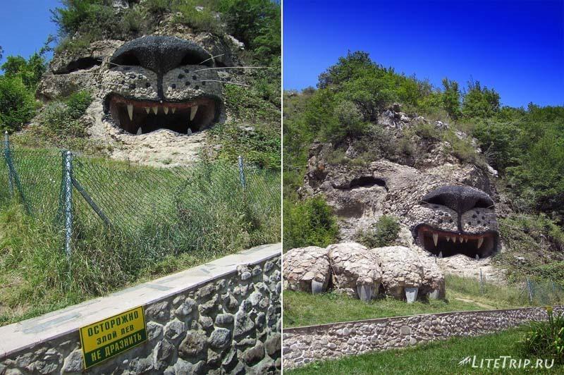 Нагорный Карабах. Деревня Ванк - скала-лев.