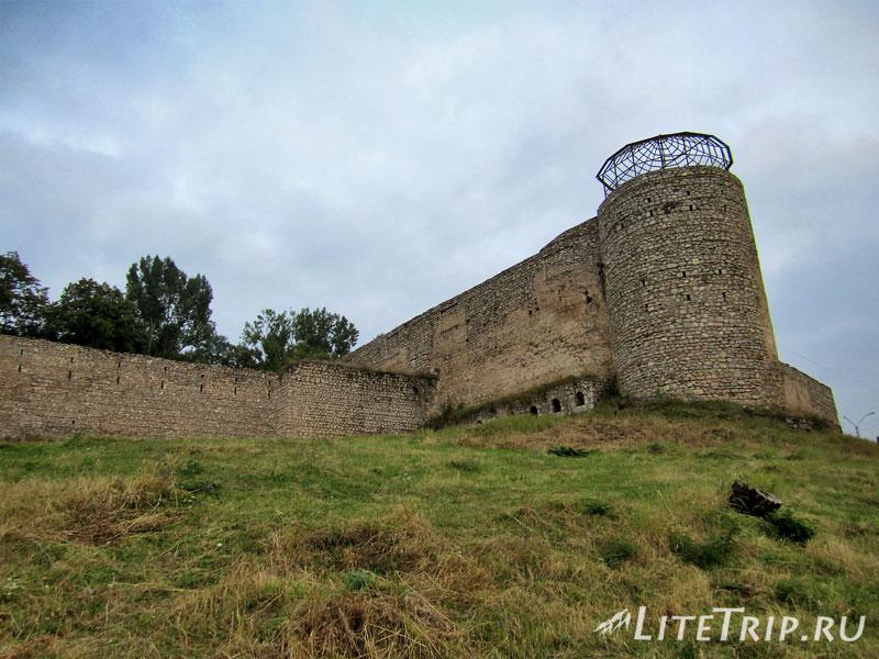Шушинская крепость в Нагорном Карабахе