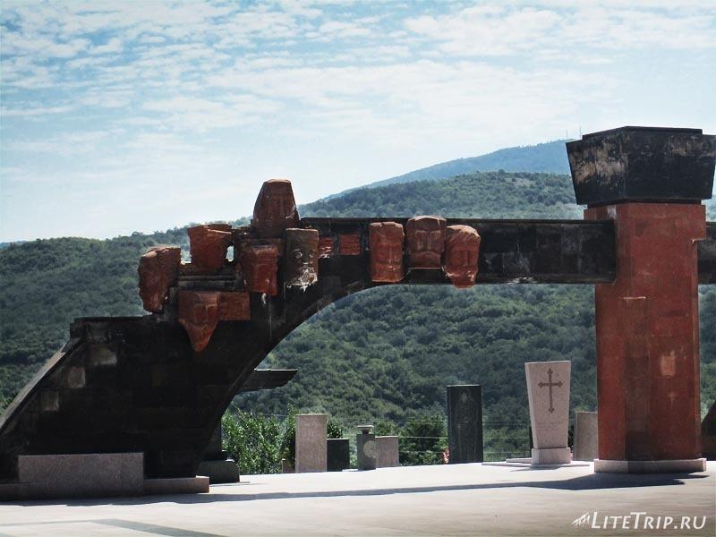 Нагорный Карабах. Степанакерт - мемориал.