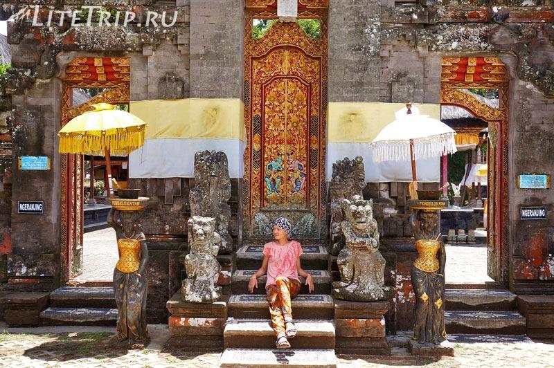 Индонезия. Бали. Храм Улун Дану.