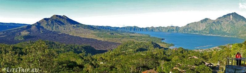 Индонезия. Бали. Смотровая площадка на вулкан Батур и озеро