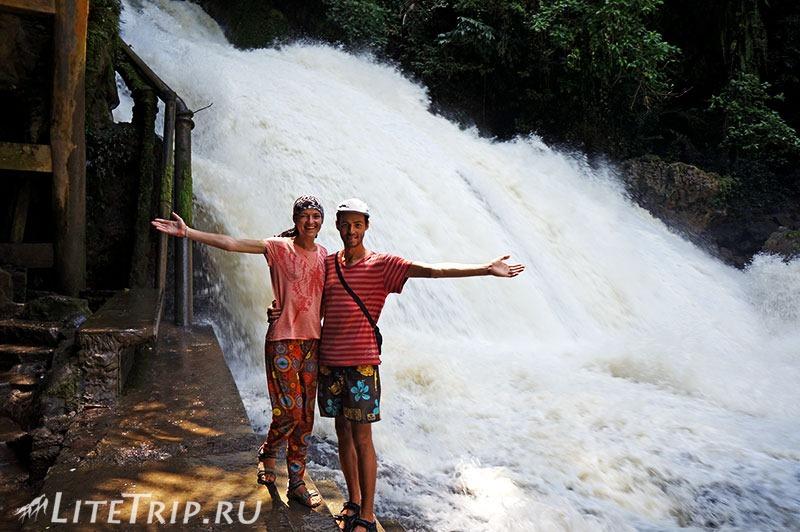 Индонезия. Сулавеси. Национальный парк Бантимурунг - водопад