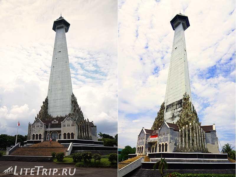 Индонезия. Сулавеси. Макассар. Монумент Мандала.