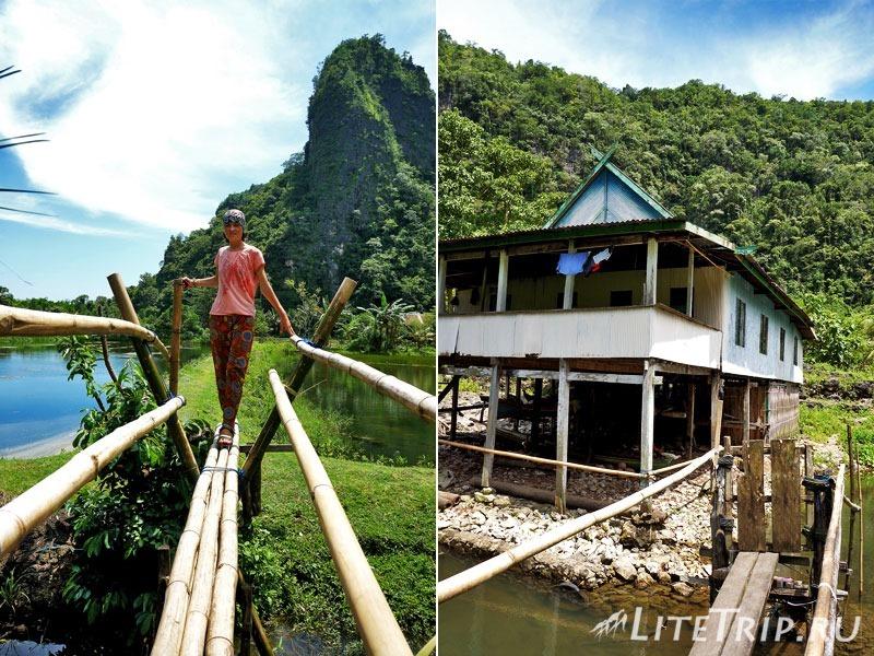 Индонезия. Сулавеси. Рамман-Рамман. Деревня Kampung Berua. Прогулка