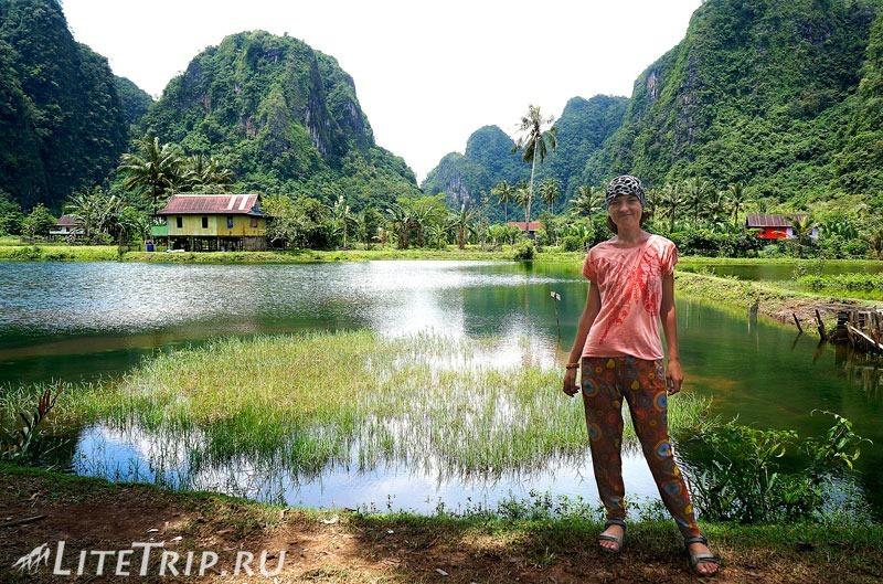 Индонезия. Сулавеси. Рамман-Рамман. Деревня Kampung Berua.
