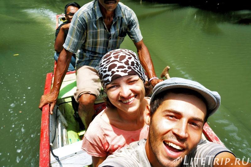 Индонезия. Сулавеси. Рамман-Рамман. В лодке