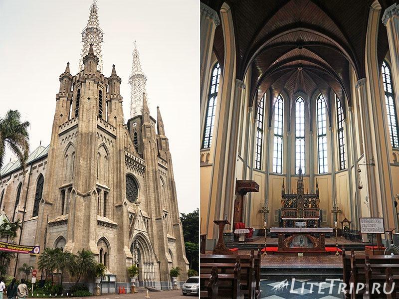 Индонезия. Джакарта. Кафедральный собор.