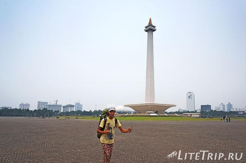Индонезия. Джакарта. Площадь свободы. Монумент