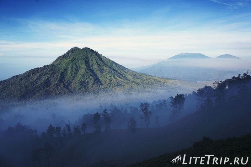 Индонезия. Ява. Вулкан Иджен. Обратная дорога