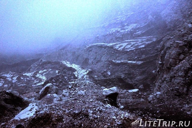 Индонезия. Ява. Вулкан Иджен. Окружающий ландшафт