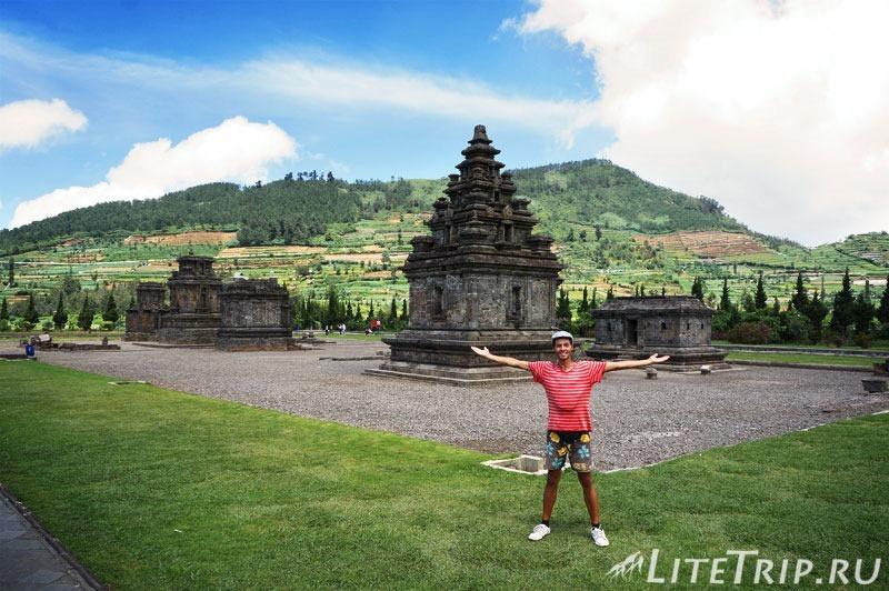 Индонезия. Ява. Плато Диенг. Храм Arjuna