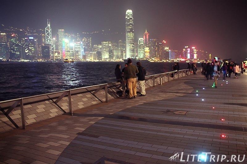 Гонконг. Аллея звезд.