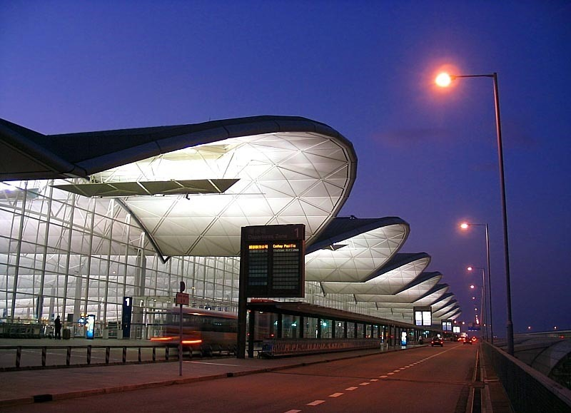 Гонконг. Международный аэропорт.