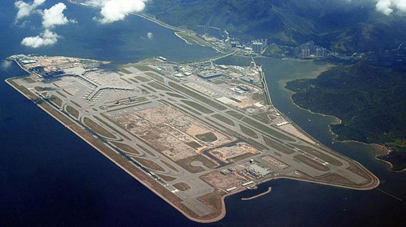 Гонконг. Международный аэропорт - остров.