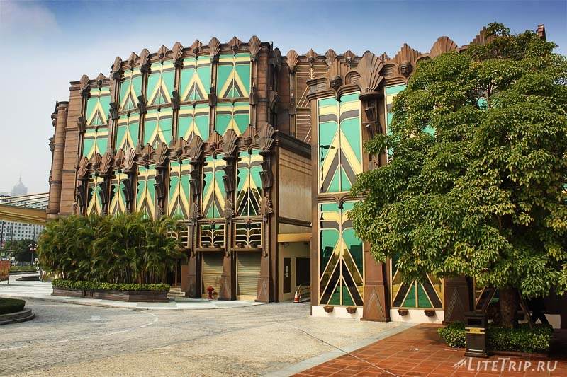 Казино в стиле Египта в Макао.
