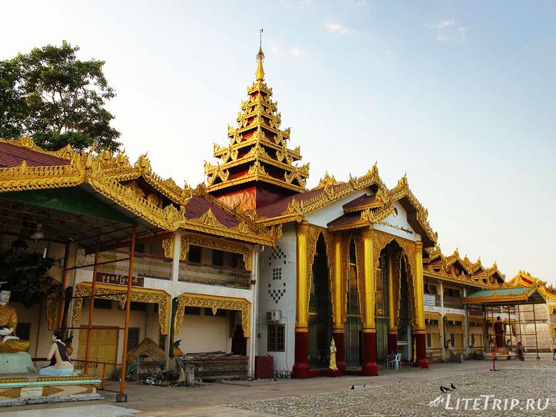 Пагода Ботатунг в Янгоне