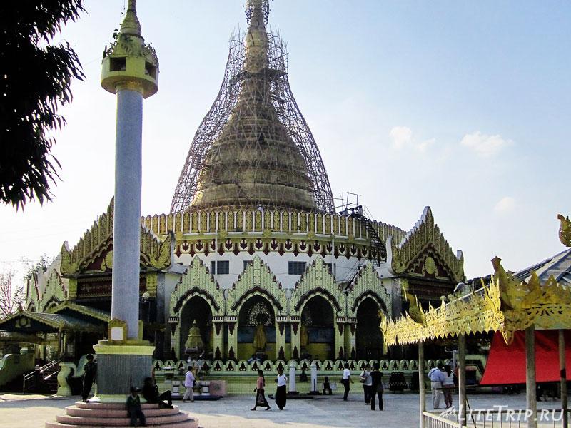 Пагода Каба Эй в Янгоне
