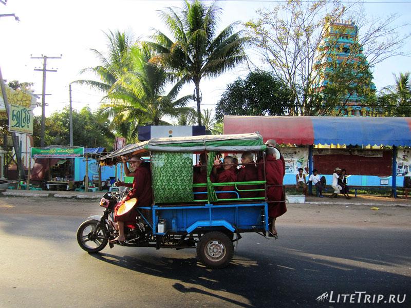 Городской транспорт в Янгоне