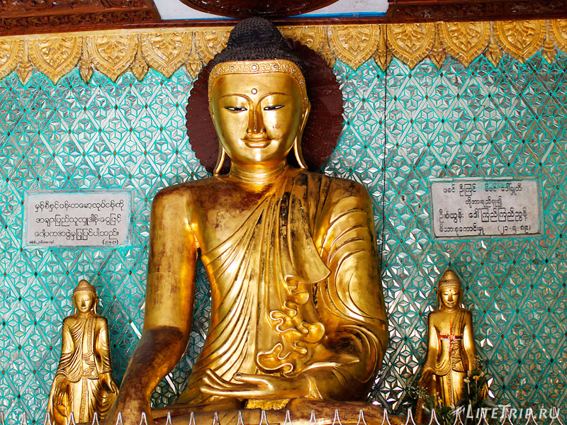Статуя Будды в Пагоде Суле
