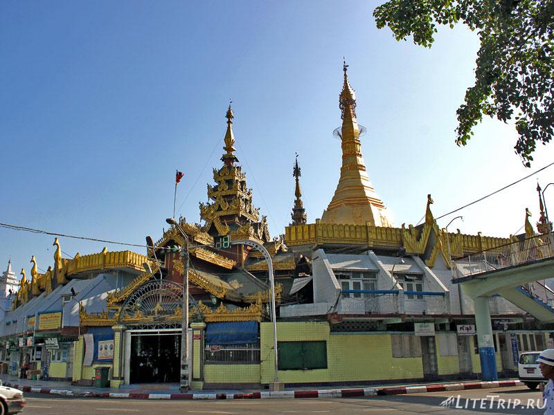 Пагода Суле в Янгоне