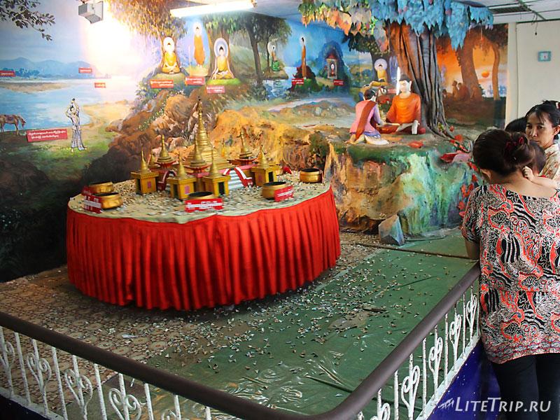 Развлечения в Пагоде Ботатунг